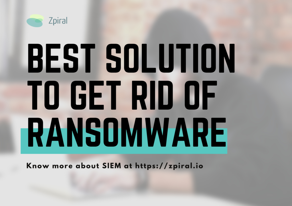Best Solution to Get Rid of Ransomware!